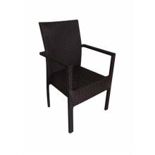 Mobiliario impermeable al aire libre silla del Rattan del PE