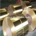 Tiras de latão cobre fonte da fábrica