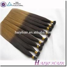 Remy double drawn preço de fábrica mini dip corante ombre ombre nano extensão do cabelo