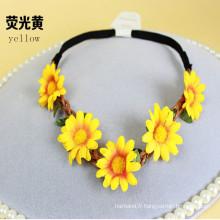 Fleur de guirlandes de fleurs pour la mariée nuptiale (HEAD-349)