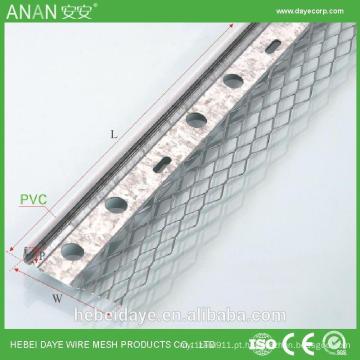 Protetor de canto de plástico decorativo industrial para proteção de parede