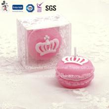 Розовый Надушенный комплект подарка стоит свечи для свадьбы сувенир