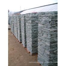 Pilar modular de pizarra natural gris