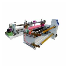 Automatic tape slitting laminating rewinding machine