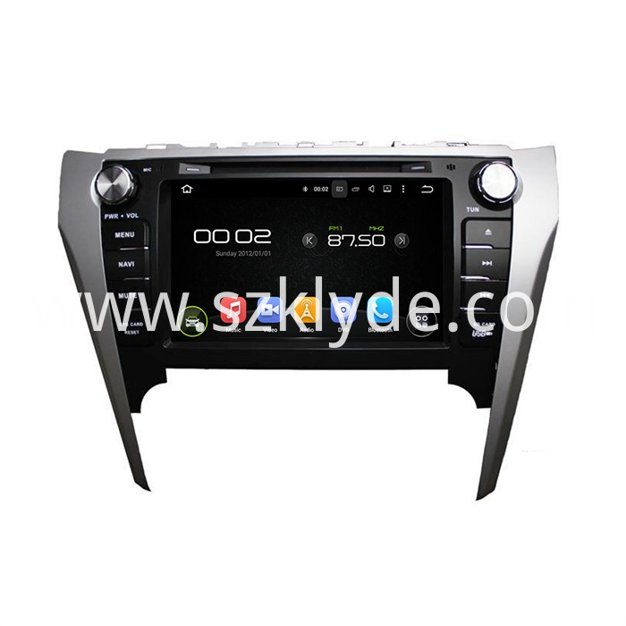CAMRY 2012 car entertainment DVD