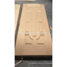Tablero de la puerta de madera natural decorativa puerta puerta
