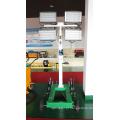 Torre clara portátil da lâmpada do alogenuro do metal 4000w (FZM-1000B)