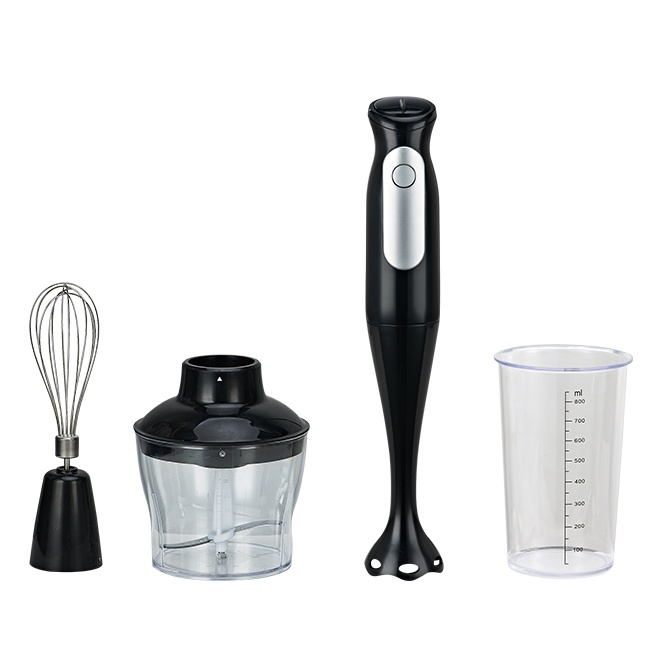 Kitchen hand stick mixer immersion blender with whisk