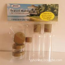 Professional Supplier Cosmetic Plastic Travel Bottle Set
