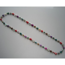 Bunte Shell Perlen Mode Halskette