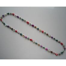 Contas de Shell coloridos moda colar