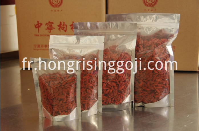 goji berry packing