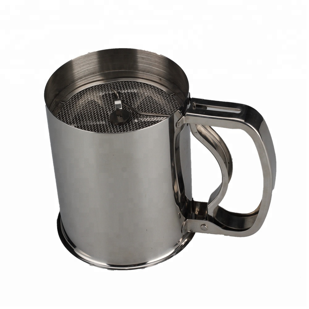 The Stainless Steel Base Flour Sifter