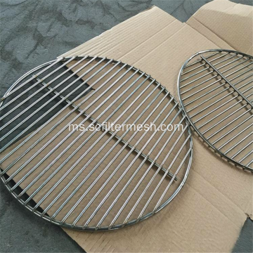 Welded Folding Barbecue / BBQ Grill Wire Mesh