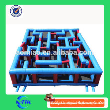 Outdoor / Indoor laser tag labirinto inflável do laser labirinto inflável personalizado à venda