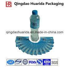 Gravure Printing Customized PVC Shrink Label für Getränkeflaschen