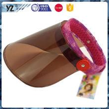 Capa de viseira de plástico de boa qualidade promocional de boa qualidade da China