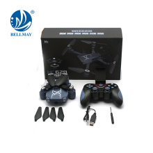 Wholesales 2.4GHZ 6 axes Quadcopter Headless RC Drone avec caméra WiFi