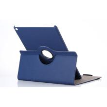 Comprimé de 360 degrés de rotation PU cuir Flip Folio pour iPad Case PRO