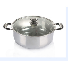 Stainless Steel Cookware Cooking Soup Pot