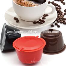 Molde do copo do filtro de café com boa qualidade Fabricação plástica da modelagem por injecção de Shell do filtro