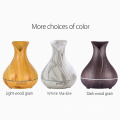 Aromacare Vase Style Design Wood Grain Aroma Difusor 400ml Aceite esencial Difusor