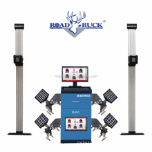 CE approval Road Buck R500 car wheel alignment with turntables