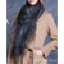 2016 Последняя мода Необычные шелка органзы Шарф Wrap шаль