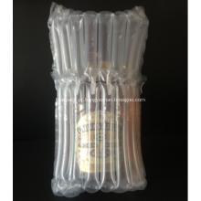 Encher saco de almofada de coluna de ar para whisky