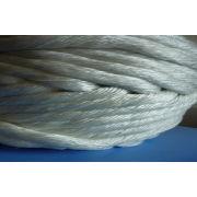 Pipe Insulation High Temperature Fiberglass Twisted Rope Braided