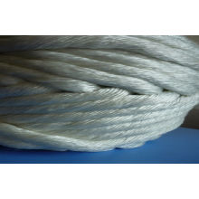 Pipe Insulation High Temperature Fiberglass Twisted Rope Braided