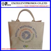 Logo respectueux de l'environnement Sac de jute promotionnel personnalisé (EP-B581703)