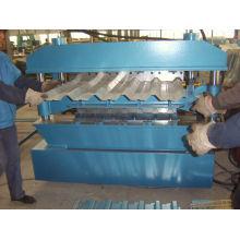 ¡Venta caliente! diferentes perfiles de metal para techos máquina perfiladora de doble capa
