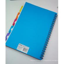La mejor y de alta calidad PP cubre el cuaderno del PVC