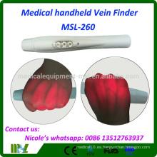 Medical Infrared Clear Vein Finder Portátil MSL-260 con Super Power Proyección de luz LED rojo