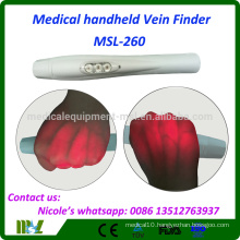 Medical Infrared Clear Vein Finder Portable MSL-260 with Super Power Red LED Light Projection