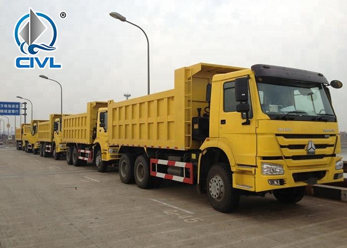 Sinotruk 6x4 Dump Truck Howo Tipper 18 04