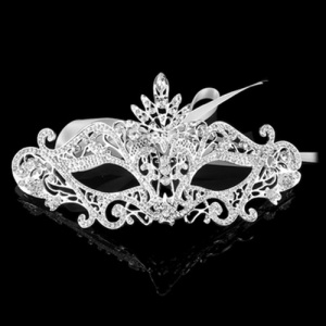 Wholesale Alloy Crystal Masquerade Mask