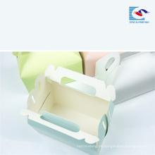 Kostenlose Probe benutzerdefinierte Drucken Food Grade Cake Paper Box