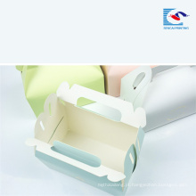 Amostra grátis impressão personalizada Food grade cake paper box