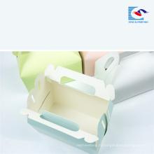 Бесплатный образец изготовленным на заказ печатанием качества еды торт бумажная коробка