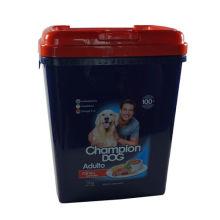 Contenedor de comida para mascotas con nuevo estilo de perro
