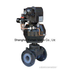 Válvula de diafragma tipo regulador neumático (G6T41)