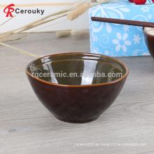 Runde Form Keramik glasierte Schüssel