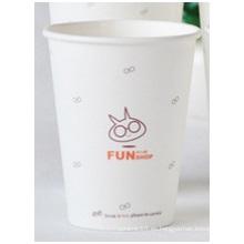 Copas de papel desechables personalizadas Copas de papel ambientales PE