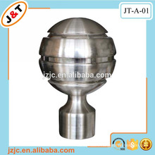 curtain plastic pipe end caps, iron poles iron rod production ball