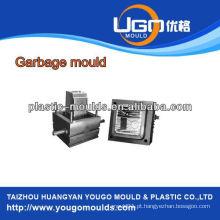 Moldes domésticos de plástico moldagem de lixeira moldagem de injeção de plástico Taizhou Zhejiang China