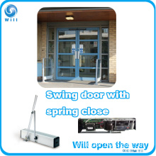 Swing Door Opener with Spring Close Function