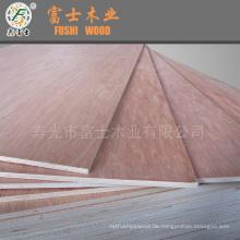Pappel-Kern, Okoume Gesicht / Rücken Sperrholz für Möbel