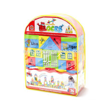 74pcs kids education eva toy building block